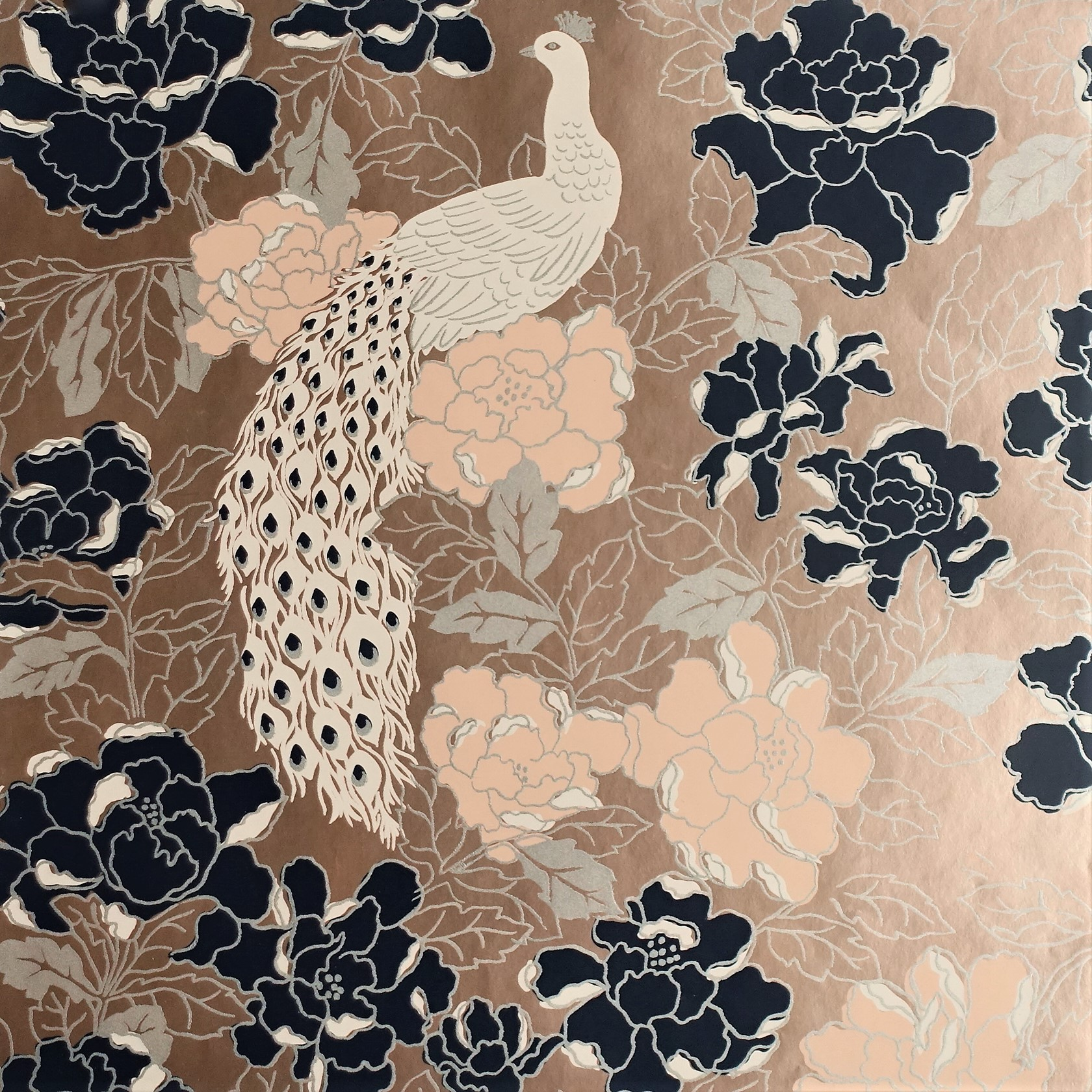 Romance hand printed wallpaper collection