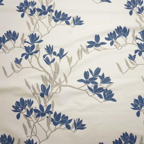 Magnolia handprinted fabric