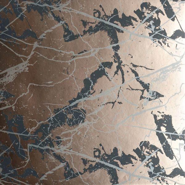 Marble on Rose Custom Wallpaper