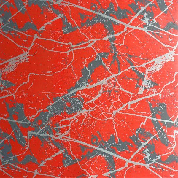 Marble on Melon Custom Wallpaper