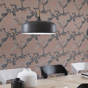 Marble Custom Wallpaper Chinoiserie Collection