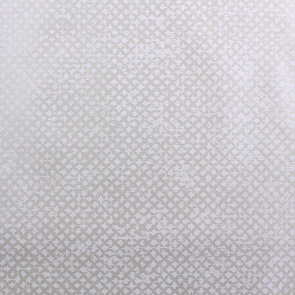 Treillage on Milk Custom Wallpaper