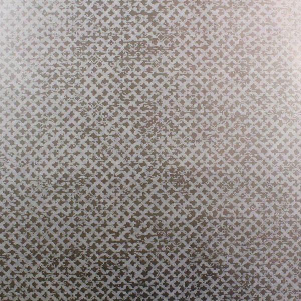 Treillage on Gunmetal Custom Wallpaper