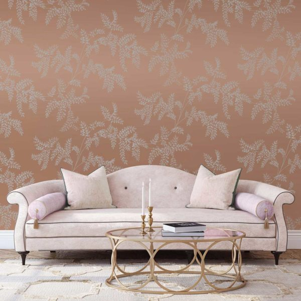 Wisteria Fern custom wallpaper