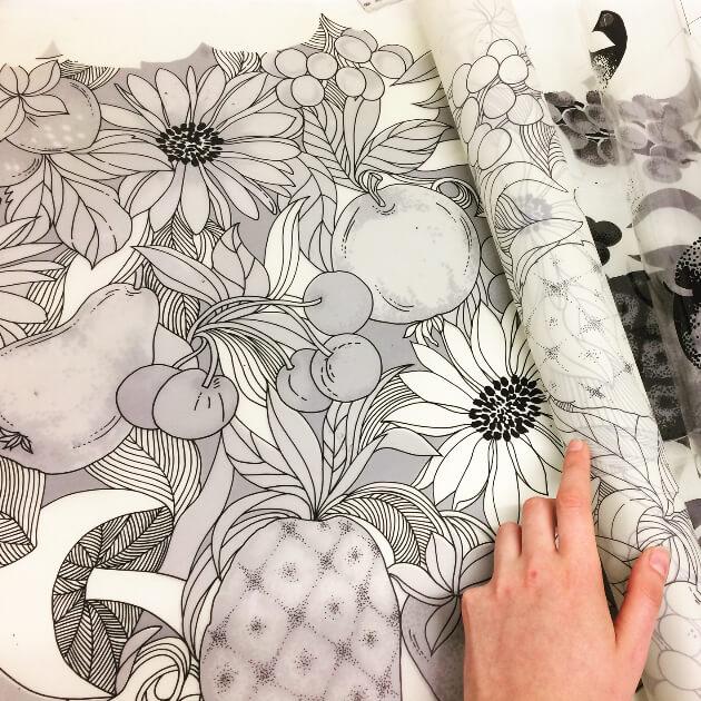signature prints bespoke wallpaper design